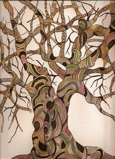 Zentangle tree