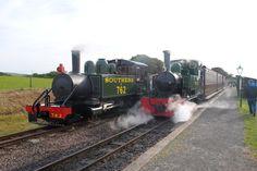 Lyn & Isaac at The Lynton & Barnstaple Railway