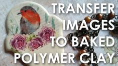Transfer images to baked polymer clay. Learn to transfer colored images to baked polymer clay using plain paper and a laser printer. Use the same technique to transfer to raw clay too! video coming next. Join my art club: . visit my Polymer Clay Kunst, Polymer Clay Miniatures, Polymer Clay Charms, Polymer Clay Creations, Polymer Clay Jewelry, Baking Polymer Clay, Clay Earrings, Clay Art Projects, Polymer Clay Projects