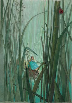 Rébecca Dautremer - Les contes d'Andersen   Oeuvres   Galerie Robillard