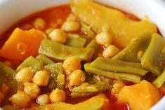 OLLA GITANA TRADICIONAL - Recetízate Mexican Food Recipes, Vegan Recipes, Cooking Recipes, Ethnic Recipes, Spanish Dishes, Spanish Food, Spanish Recipes, Easy Healthy Breakfast, Healthy Snacks