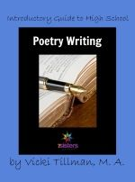 Writing poetry is an important word-use skill! Here is a guide for absolute novices. It is no busywork, fun, success-oriented: Introductory Guide to High School Poetry Writing