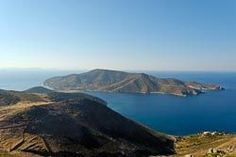 Isle of Patmos, when the apostle John had his vision and wrote the book of Revelation