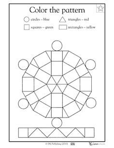 simple colouring sheets for first graders - Google Search