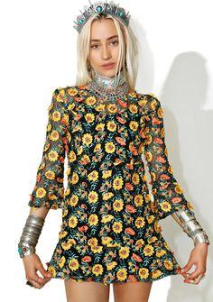 0b33c41cd8b4 For Love   Lemons Amelia Swing Dress cuz yer lovely as a flower and got  stems