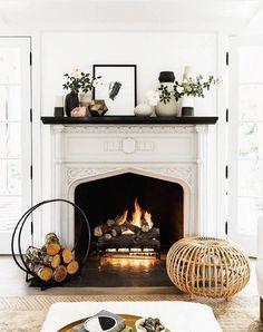 Sacramento Street Smarts: Fireplace Mantel Styling - Sacramento ...
