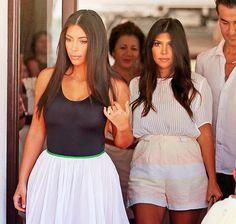 Kim's dress!