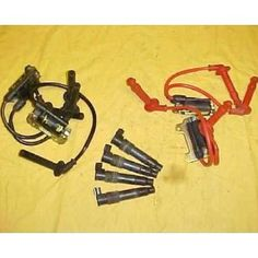 1997 Honda GL 1500 SE Goldwing Se Ignition Coil Set. 1997 Honda GL 1500 SE Goldwing Se Ignition Coil SetThe Ignition Coils generate the high voltage required to fire the spark plug.  Depending on the bike, the coils may be integrated with the spark plug boot (coil sticks), or they may be remotely mounted and transmit the spark to the plug through a spark plug wire and boot.  The Ignition Coil Set includes a complete set of coils for your bike. The Condition of this part is Used.All used…