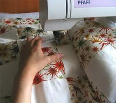 position of hands for free motion quilting
