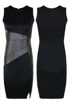 Vestido negro de la celebridad por OnFleekShopNL en Etsy