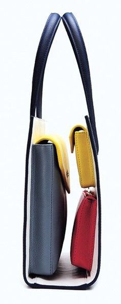 Kris Xu. Inversed idea of a hand bag