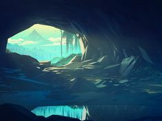 Cave by Mikael Gustafsson #Design Popular #Dribbble #shots