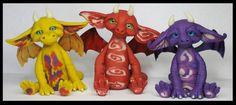 Handmade Polymer Clay Littles Fantasy Creatures by KabiDesigns