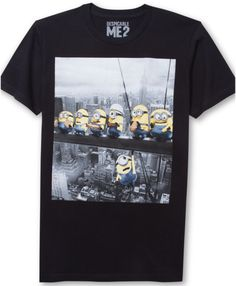 Jem Despicable Me Graphic Tshirt in Black for Men