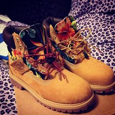 Love these customized Timbs!!