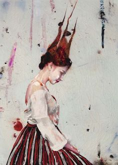 Available for sale from Opera Gallery, Lita Cabellut, Lucia 01 Mixed media on canvas, 280 × 200 cm Jackson Pollock, Spanish Artists, Unusual Art, Art Challenge, Mixed Media Canvas, Color Of Life, Beautiful Paintings, Figure Painting, Contemporary Paintings