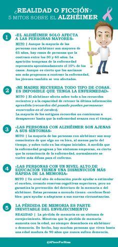 Mitos en la enfermedad de Alzheimer