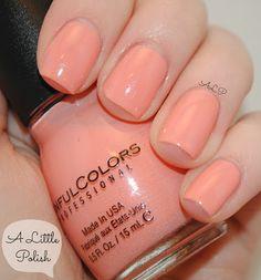 A Little Polish: Sinful Colors - Orange Cream