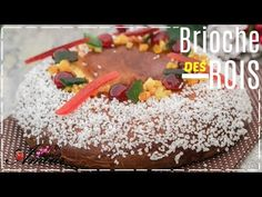 la brioche des rois en toute facilité et simplicité - YouTube Best Cookie Recipes, Cereal, Almond, Vanilla, Birthday Cake, Chocolate, Breakfast, Flat Bread, Desserts
