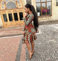 Ankara Short Gowns For Ladies Most stylish collection of ankara short gown styles of 2019 trending today, try these short ankara gown styles African Fashion Ankara, Ghanaian Fashion, Latest African Fashion Dresses, African Print Dresses, African Dresses For Women, African Print Fashion, Africa Fashion, African Attire, Nigerian Fashion