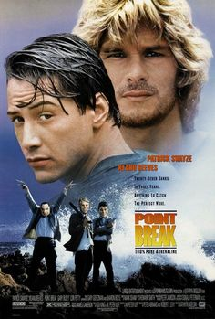 Point Break Movie Poster 27 X Patrick Swayze, Keanu Reeves, C, Licensed Point Break Movie, Point Break 1991, Movies Point, Keanu Reeves, Peliculas Audio Latino Online, Peliculas Online Hd, Film D'action, Film Serie, Movie Stars