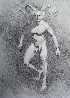 The Faun, from a photo reference @alesstepanref Graphite on paper #man #maleform #faun #satyr #graphite #drawing #figuredrawing #figurativeart #figurestudy #study #dessin #dibujo #graphitedrawing #pencildrawing #linedrawings #artistslife #originalartworks Figure Drawing, Line Drawing, Drawing Sketches, Graphite Drawings, Pencil Drawings, Satyr, Male Form, Photo Reference, Figurative Art