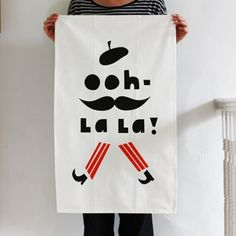 i need more cute tea towels in my life. £12.50