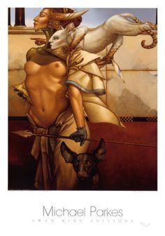 Michael Parkes WebSite of Steltman Galleries. All Stone Lithographs and Bronze Sculptures as shown on this website have been made by Michael Parkes and Steltman Galleries was the exclusive publisher and producer thereof.