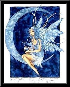 Image detail for -Amy Brown Fairy Art Gallery, cute fairy paintings, fairy fantasy art . Moon Fairy, Forest Fairy, Fantasy Kunst, Fantasy Art, Elves Fantasy, Amy Brown Fairies, Dark Fairies, Fairy Paintings, Fairy Pictures