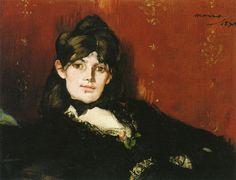 Édouard Manet | Berthe Morisot Reclining 1873 | 26 x 34 cm Oil on canvas | Musée Marmottan Monet, Paris