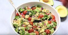 Salade de quinoa à l'avocat prête en 15 minutes