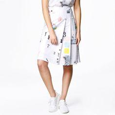 Kjol - Info Poster Pleated Skirt