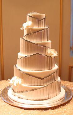 Mark Joseph Cakes: Stunning St. Regis Hotel Wedding has Cake to Match