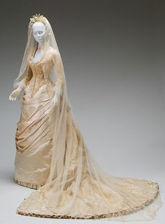 Victorian wedding gown. I would rock that!