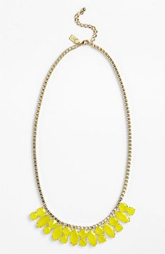 On sale: kate spade new york yellow & gold necklace