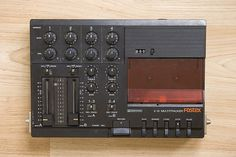 Fostex X-15 Four-Track Cassette Recorder. This machine changed my life. I spent hundreds of hours during my teens hunched over it with a guitar or a cheap microphone or a drum machine, trying to create music as good as The Cars or Pat Benatar.