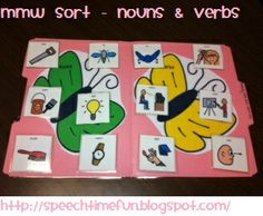 "Butterfly Multiple Meaning Words-by ""Speech Time Fun"". Pinned by SOS Inc. Resources.  Follow all our boards at http://pinterest.com/sostherapy  for therapy resources."
