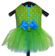 Dog Clothes Sewing Pattern 1701 Tutu Dog Dress for the Little Dog in Two Styles $8.25