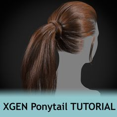 XGen PonyTail Tutorial, Obaida Hamdi on ArtStation at https://www.artstation.com/artwork/n9BWr