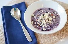 blueberry honey breakfast quinoa