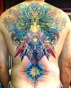 Caryl Cunningham › Color   Detroit Tattoo Artist