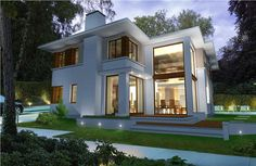 Home Fashion, Exterior Design, Sweet Home, Villa, New Homes, Mansions, House Styles, Projects, Houses