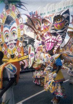Junkanoo festival - Nassau, Bahamas