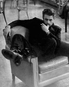 James Dean, 1955 // by Roy Schatt