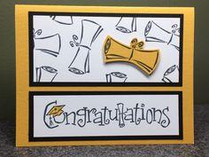 Stampin' Up Handmade Graduation Card                                                                                                                                                                                 More