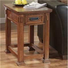 Ashley Furniture Cross Island Rectangular End Table - T419-3