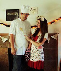 Girly baker Halloween costume