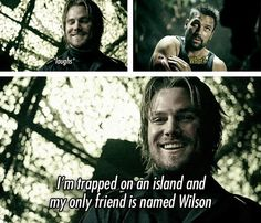 Im trapped on an island and my only friend is named Wilson!