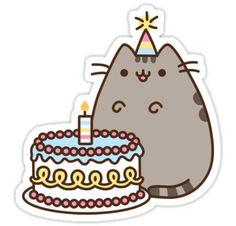 Pusheen Birthday Card Happy Birthday Pinterest Pusheen