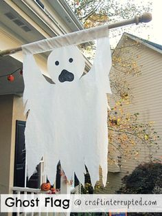 20 Ghost & Goblin Templates for Halloween